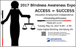 Blindness Awareness Expo poster